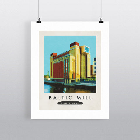 The Baltic Mill, Newcastle-Upon-Tyne 11x14 Print