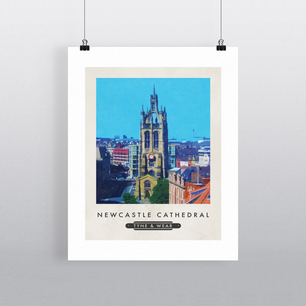 Newcastle Cathedral 11x14 Print