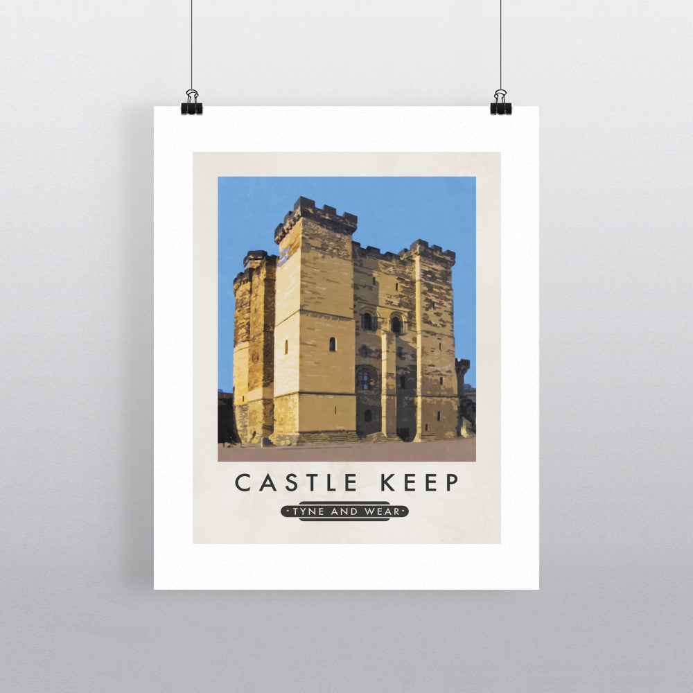 Castle Keep, Tyne and Wear 11x14 Print