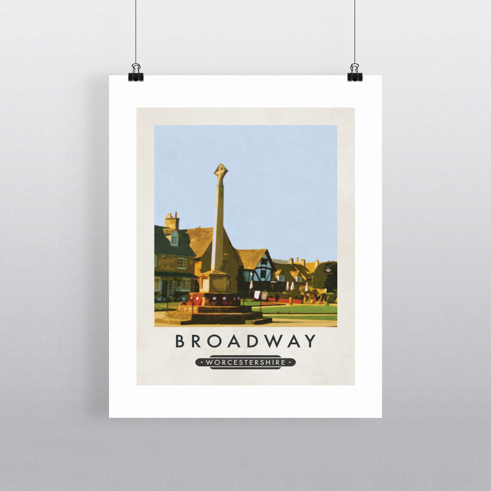Broadway, Worcestershire 11x14 Print