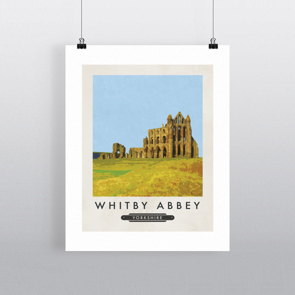 Whitby Abbey, Yorkshire 11x14 Print