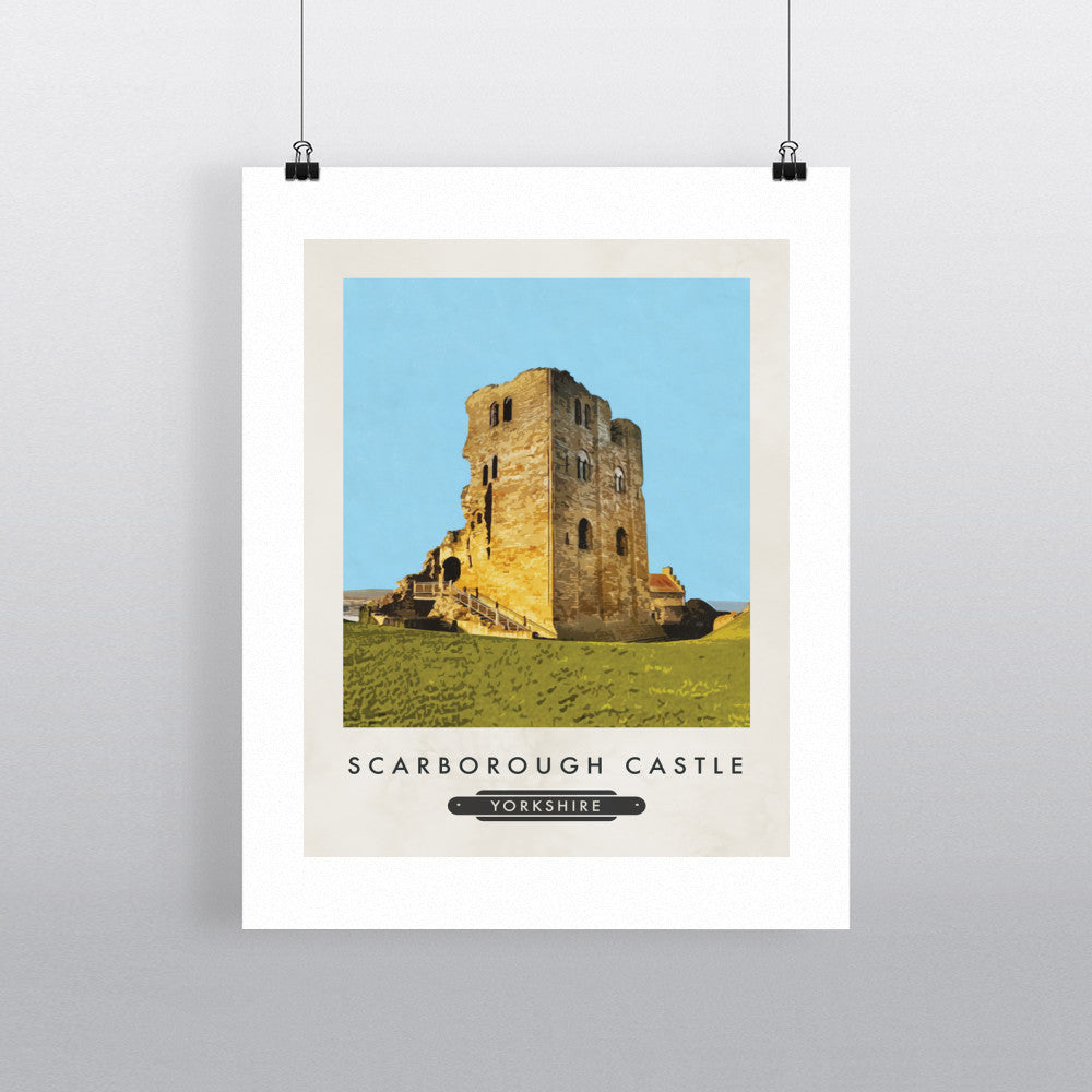 Scarborough Castle, Yorkshire 11x14 Print