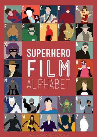 A to Z: Superhero