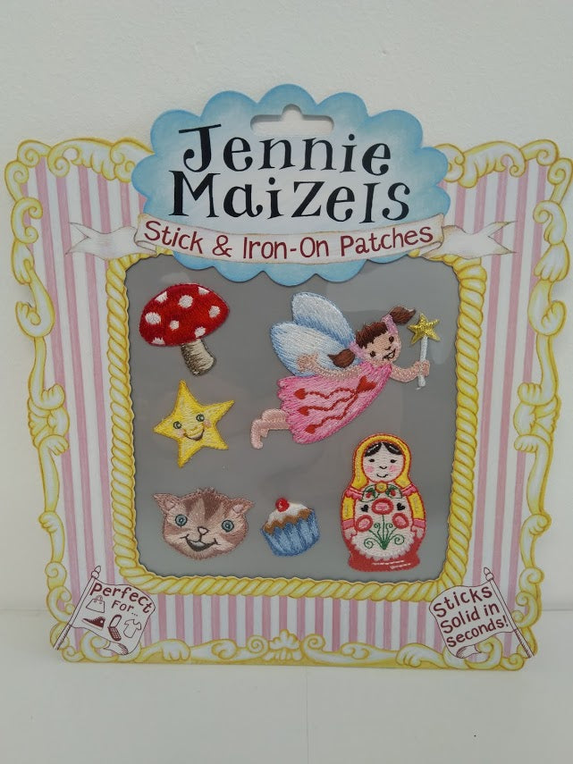 Jennie Maizels Fabric Patches: Set 2