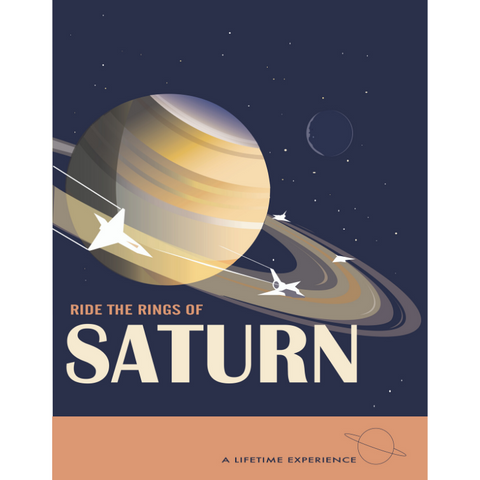 THOMPSON875: Rings of Saturn