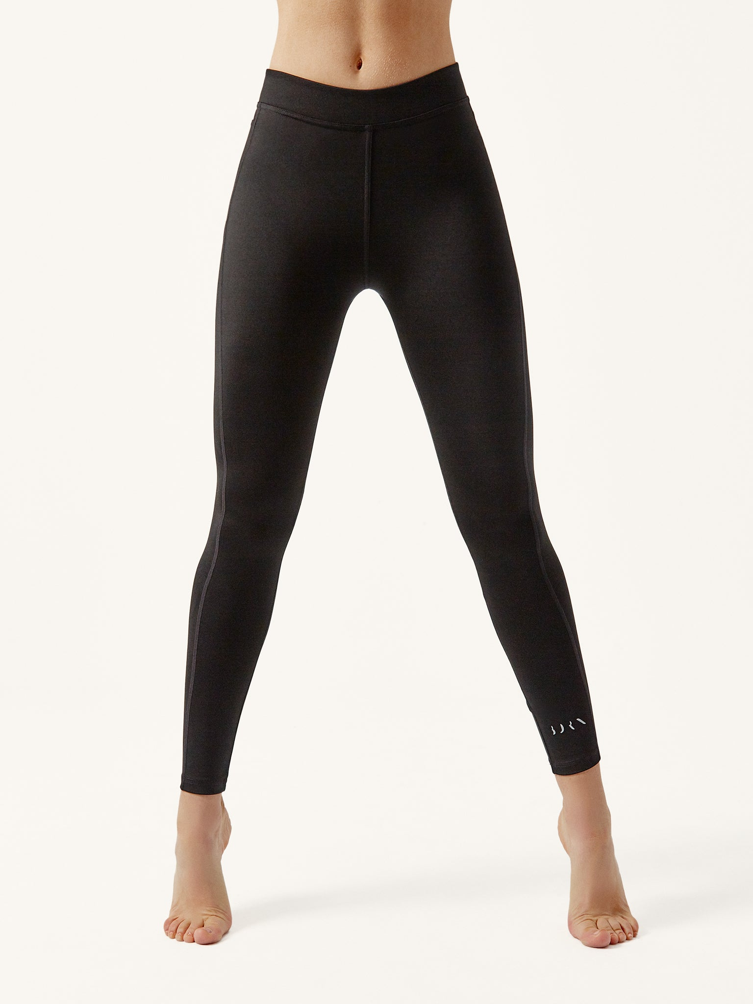 Legging sculptural black