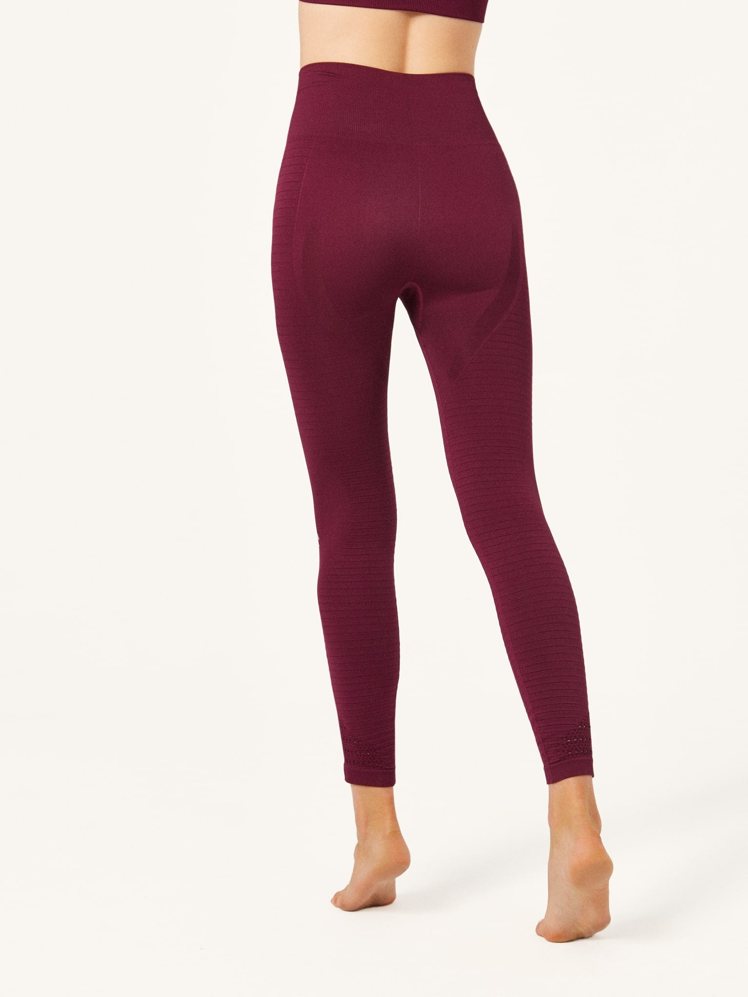 Legging Hatha Wine
