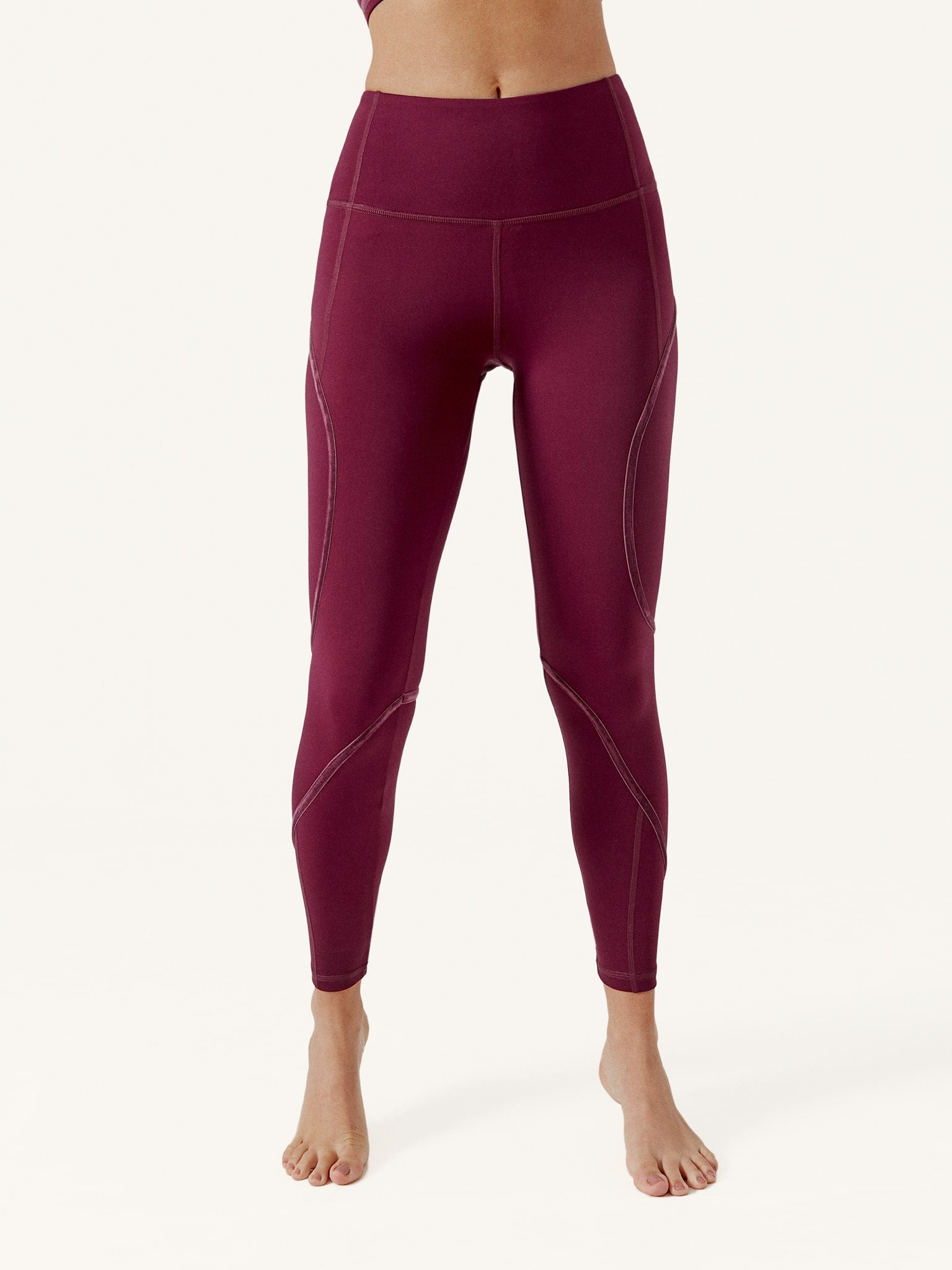 Legging Tape Burgundy
