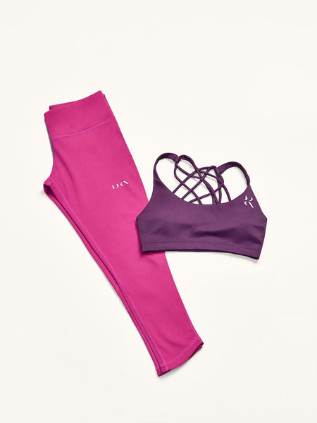 Top Cross + Legging Curve