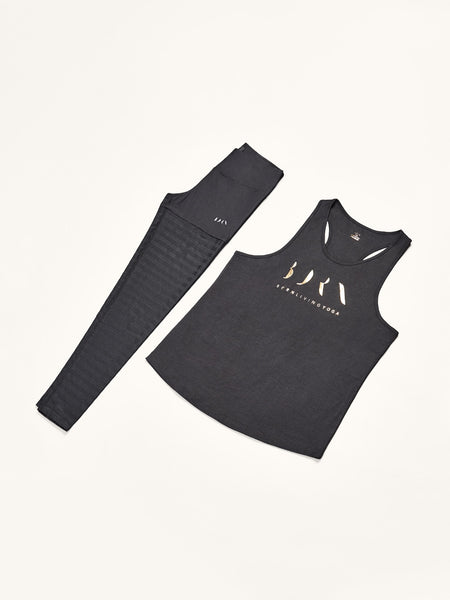 Shirt Gold + Legging Active