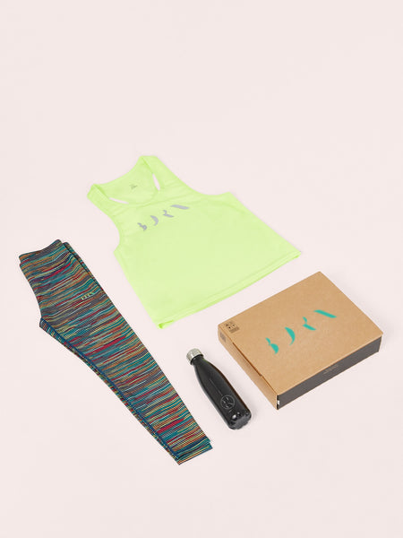 Shirt Essential + Legging Brazil + Bottle