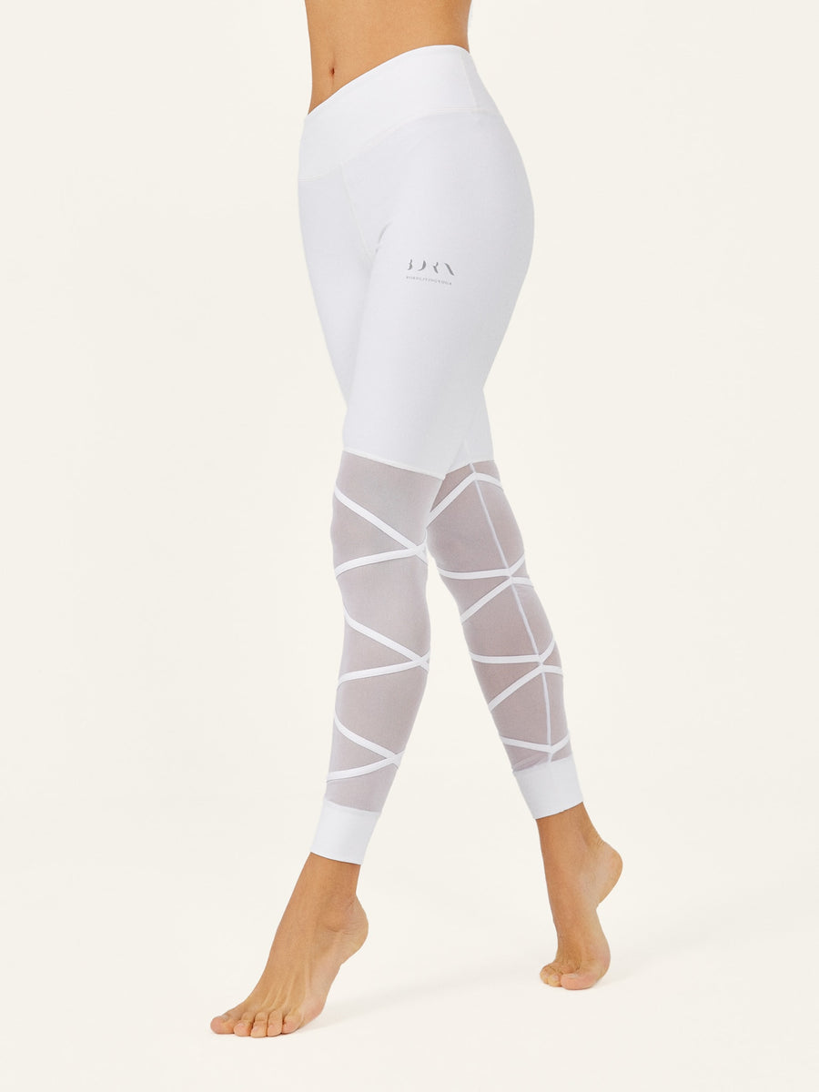 Legging Ballet White