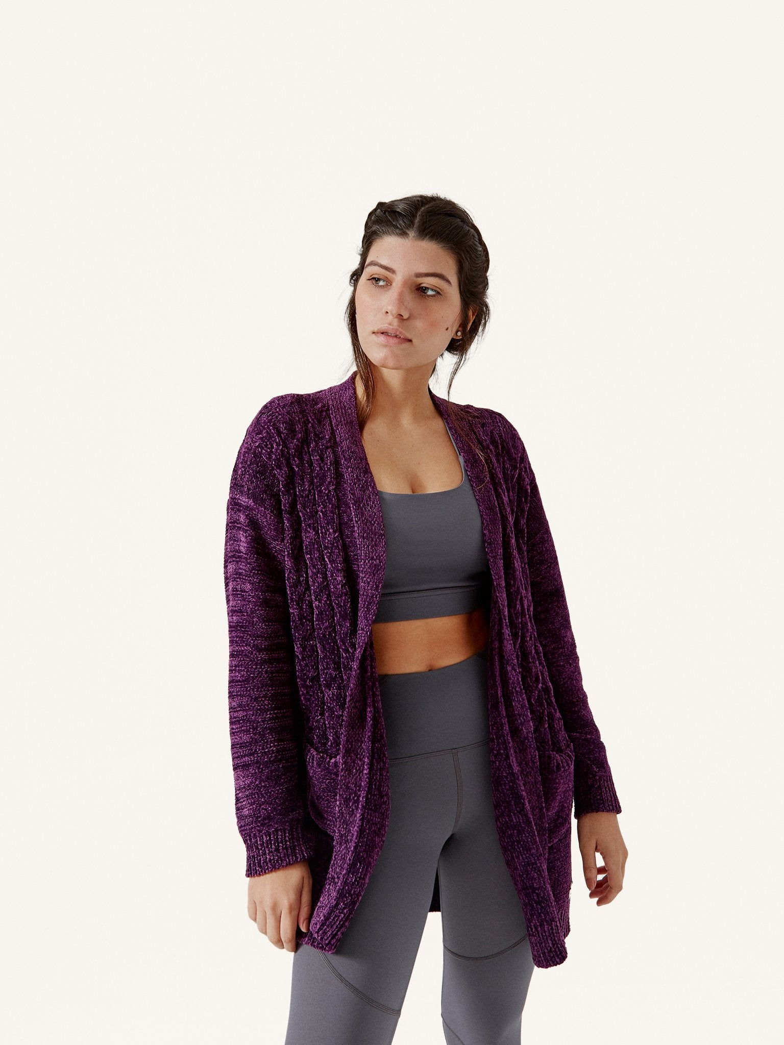 Jacket Cozy Grape