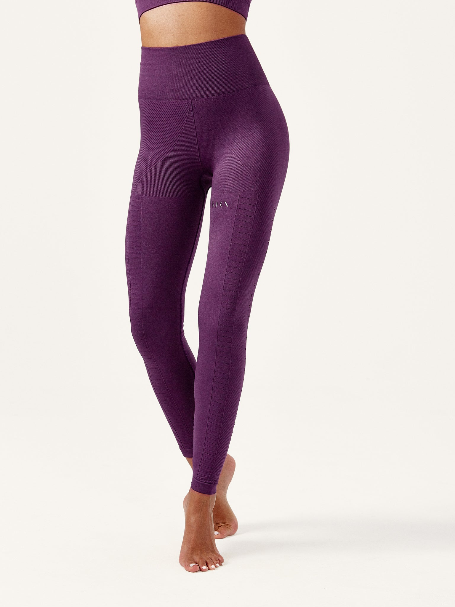 Legging Garudha Capri Grape
