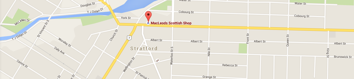 MacLeods Scottish Shop 80 Ontario St, Stratford Ontario