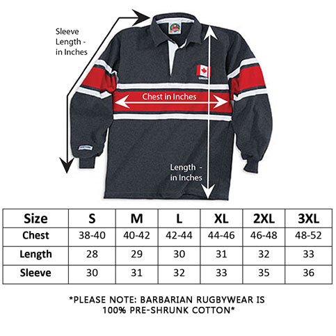 Canada Rugby Hoody