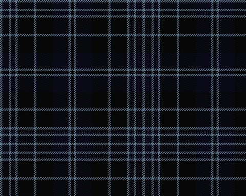 Clergy Blue Modern Men's 4yd Kilt | Scottish Shop