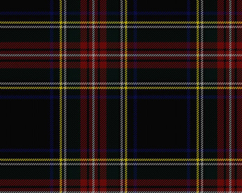 Stewart Black Modern Men's 8yd Kilt | Scottish Shop
