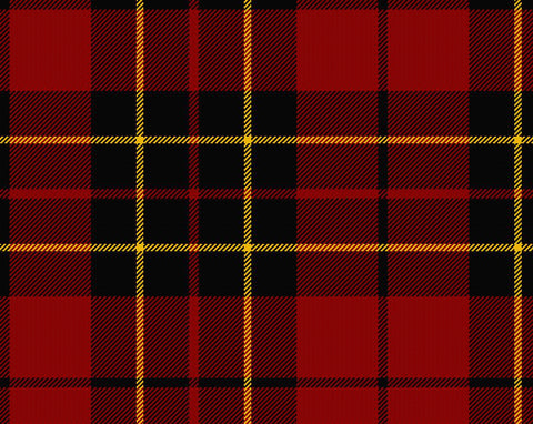 Brodie Red Modern Ladies Semi-Kilt | Scottish Shop