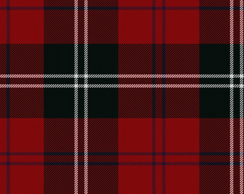 Ramsay Red Modern Hostess Kilt | Scottish Shop