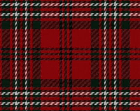 Scott Red Modern Hostess Kilt | Scottish Shop
