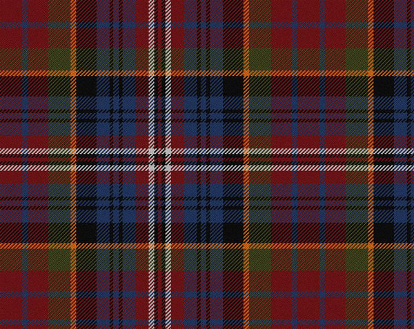 MacPherson Red Muted Tartan 11oz Cloth | Scottish Shop