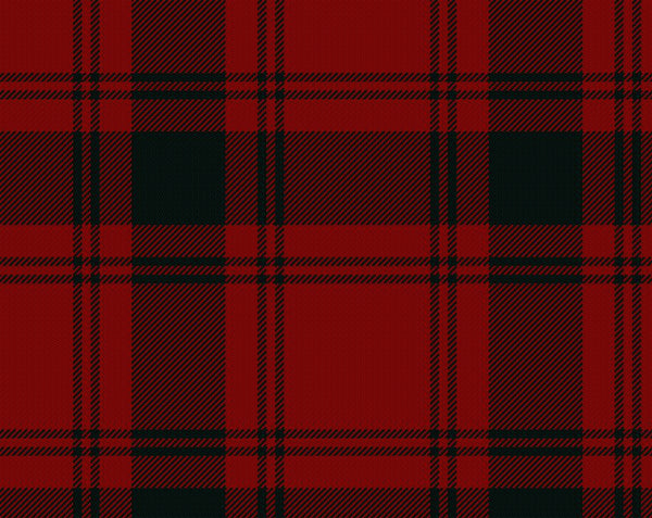 MacQuarrie Modern Tartan 11oz Cloth | Scottish Shop