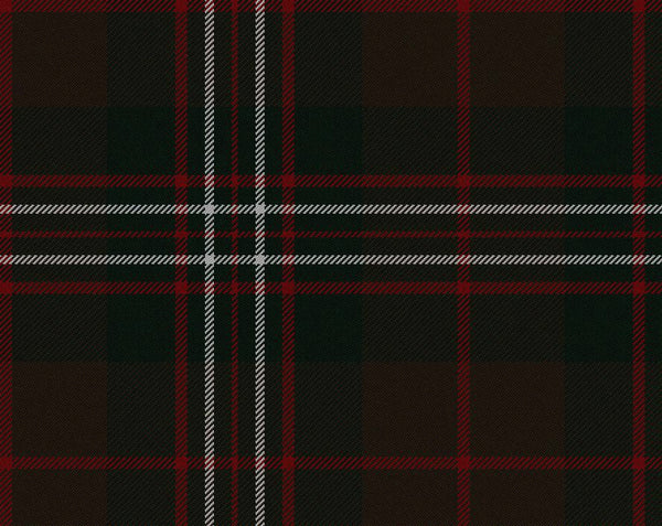 Scott Brown Modern Tartan 11oz Cloth | Scottish Shop