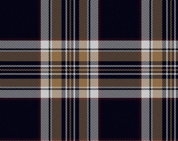 Stewart Navy Modern Tartan 11oz Cloth | Scottish Shop