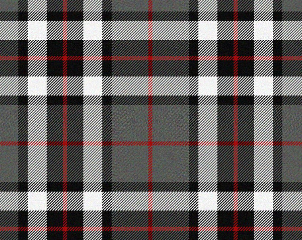 Thomson Grey Dress Modern Tartan 11oz Cloth | Scottish Shop