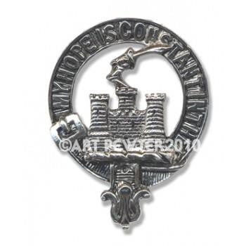 MacDonald of Clan Ranald Clan Crest Pendant/Necklace | Scottish Shop
