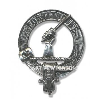 MacRae Clan Crest Tie Bar/Clip | Scottish Shop