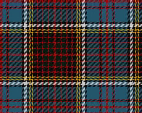 Anderson Modern Tartan Wool Neck Tie | Scottish Shop