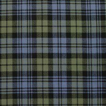 Campbell Faded Weathered Tartan Wool Neck Tie | Scottish Shop