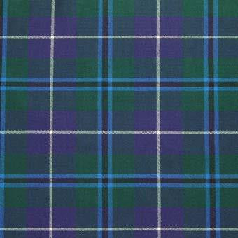 Douglas Tartan Wool Neck Tie | Scottish Shop