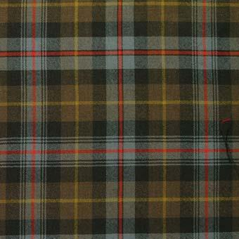 Farquharson Weathered Tartan Wool Neck Tie | Scottish Shop