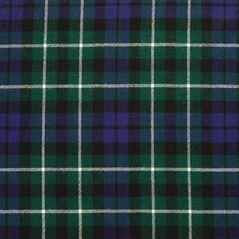Graham Tartan Wool Neck Tie | Scottish Shop