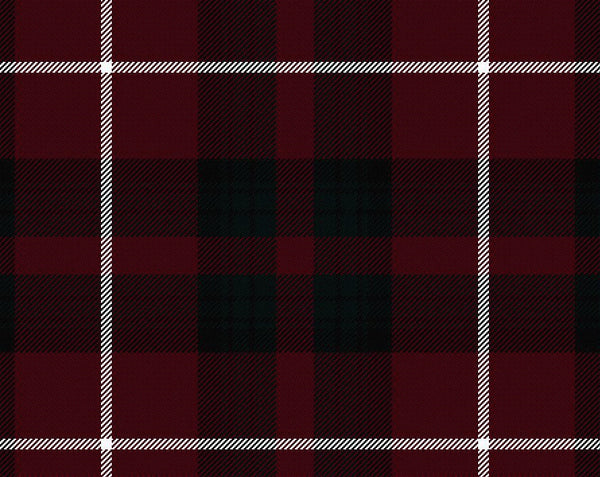 Stuart Tartan Wool Neck Tie | Scottish Shop