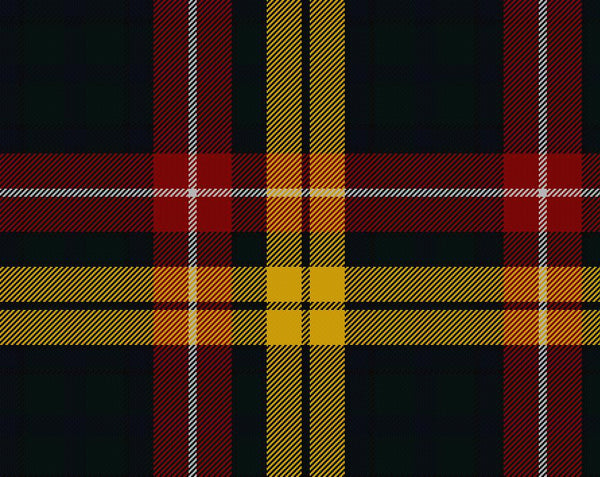 Buchanan Tartan Wool Child's Neck Tie | Scottish Shop