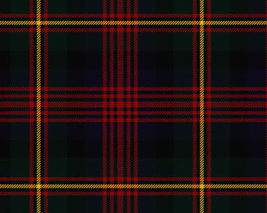 MacLennan Tartan Wool Child's Neck Tie | Scottish Shop
