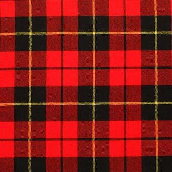 Wallace Tartan Wool Child's Neck Tie | Scottish Shop