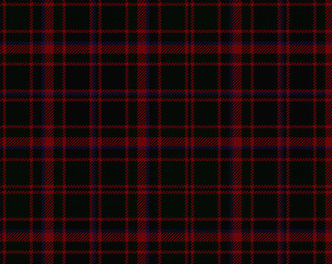 Buchan Tartan Pocket Square Handkerchief | Scottish Shop