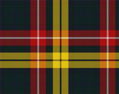 Buchanan Tartan Pocket Square Handkerchief | Scottish Shop