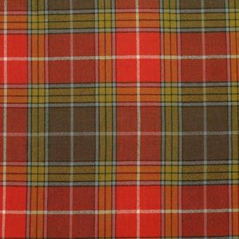 Buchanan Old Sett Weathered Tartan Pocket Square |Scottish Shop