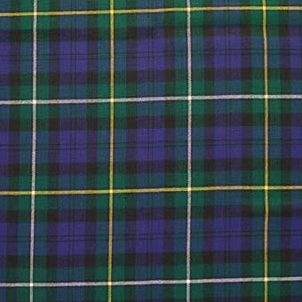 Campbell of Louden Modern Tartan Pocket Square | Scottish Shop