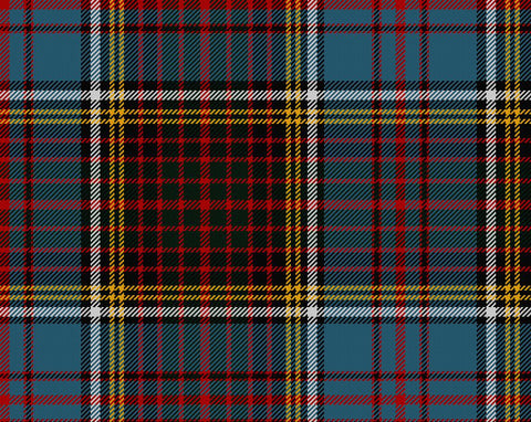 Anderson Tartan 100% Wool Scarf | Scottish Shop