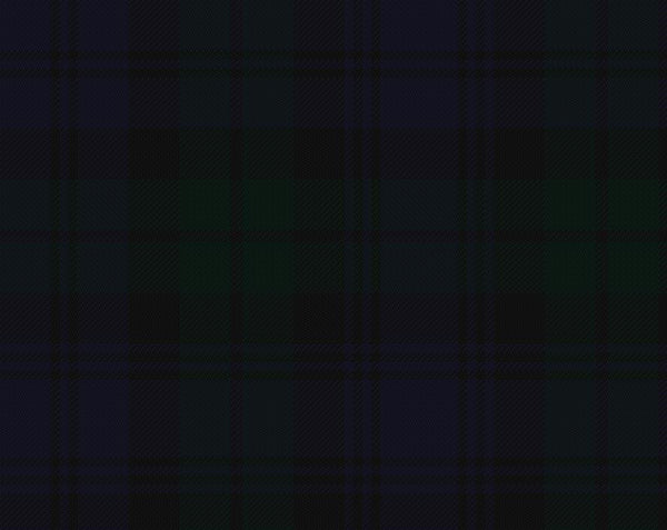 Black Watch Tartan 100% Wool Scarf | Scottish Shop