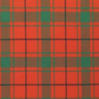 MacDonald of the Isles Red Ancient Tartan Scarf | Scottish Shop