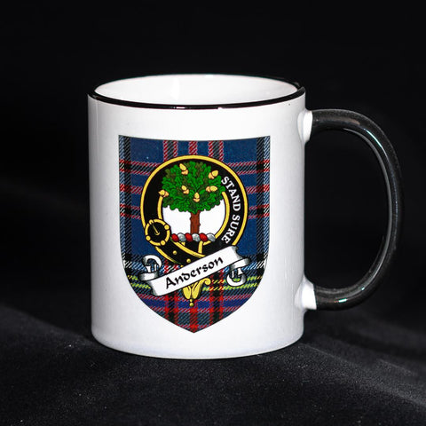 Anderson Clan Crest Mug | Scottish Shop