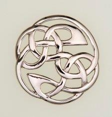 Plaid Brooch - Lindisfarne | Scottish Shop